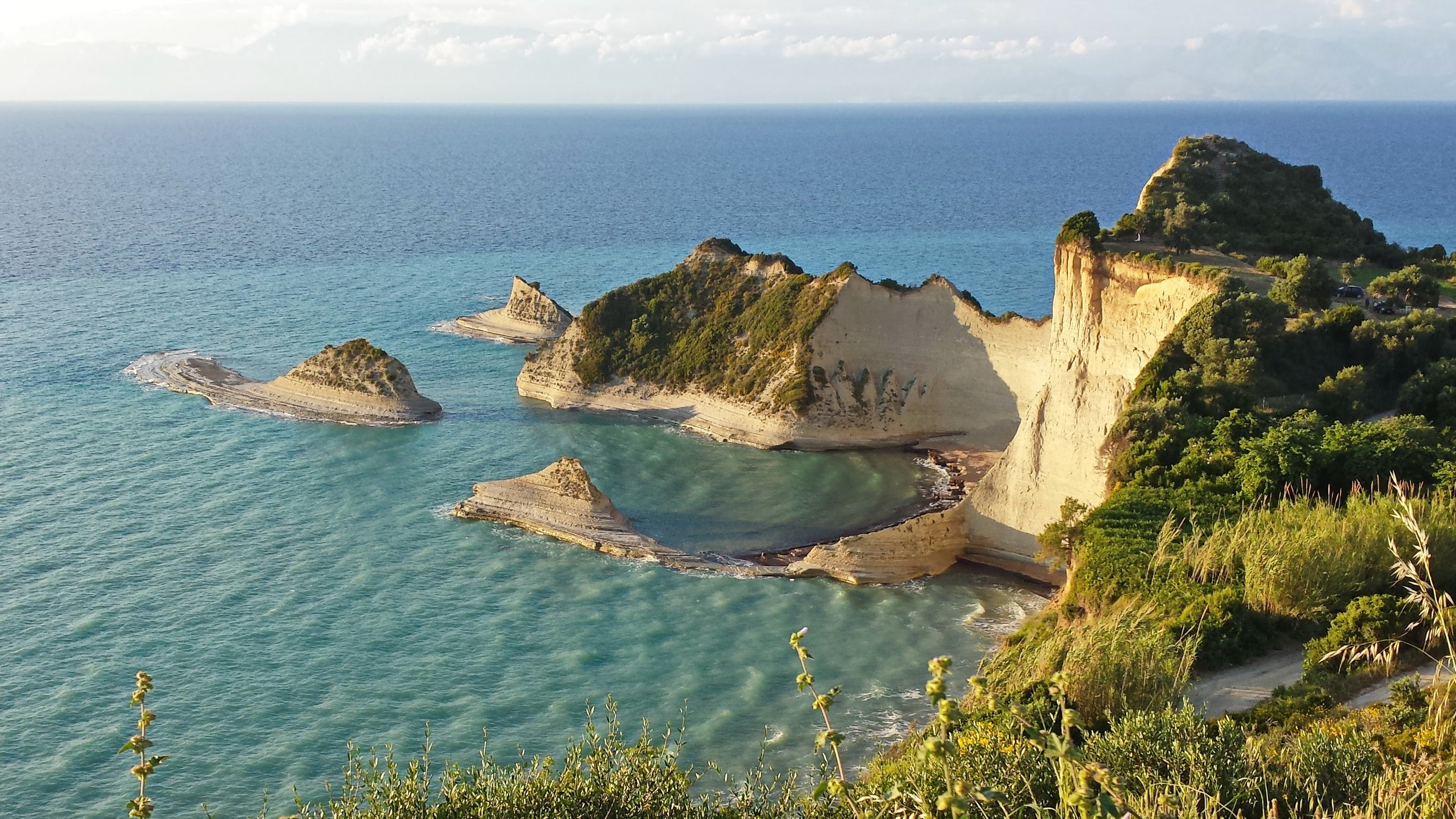 Cape Drastis In Northern Corfu A Wonderful Experience