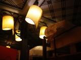 Τα φώτα και το ταβάνι εκπληκτικά - Look at this beautiful lamps and ceiling!