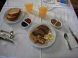 Ότι απέμεινε από ένα πλούσιο πρωινό - What is left from a rich breakfast