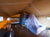 Our Luxury Safari tent for two nights!