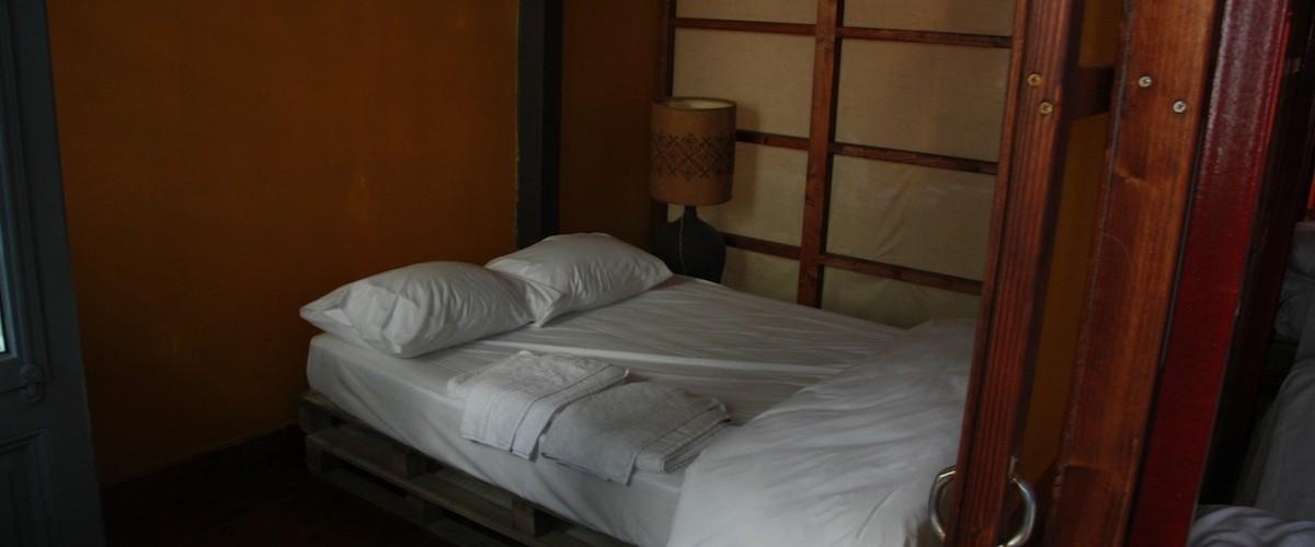 Και ένα δίκλινο κρεβάτι για τους δυό μας - A double bed for both of us